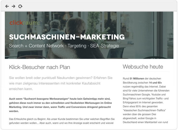 Google Ads Marketing - Übersicht
