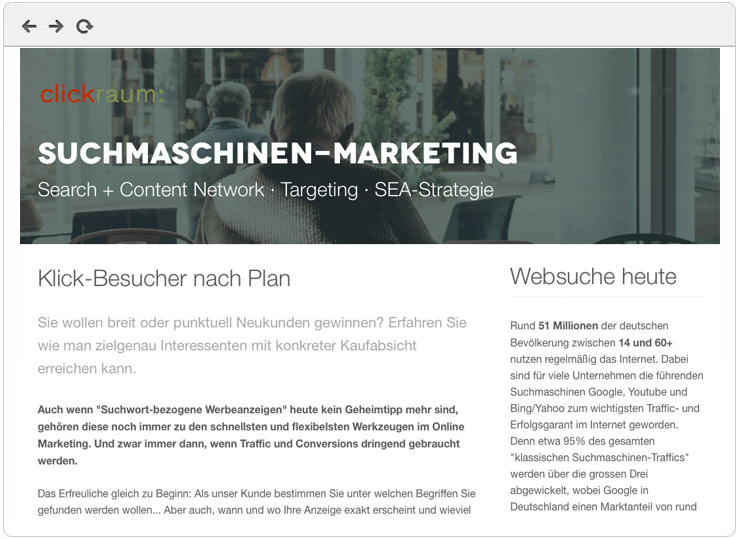Google AdWords Marketing - Übersicht
